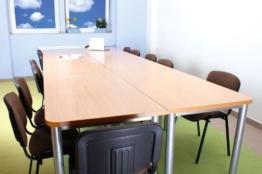 OFFICE mittlerer Konferenztisch ahorn - 1