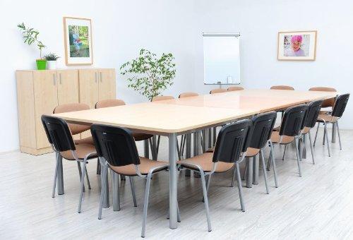 OFFICE mittlerer Konferenztisch ahorn - 2