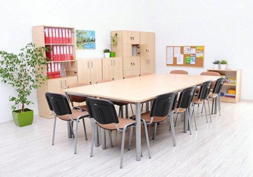 OFFICE mittlerer Konferenztisch ahorn - 3