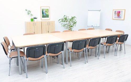 OFFICE mittlerer Konferenztisch ahorn - 4