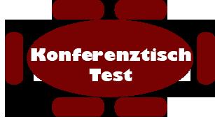 Konferenztisch Test